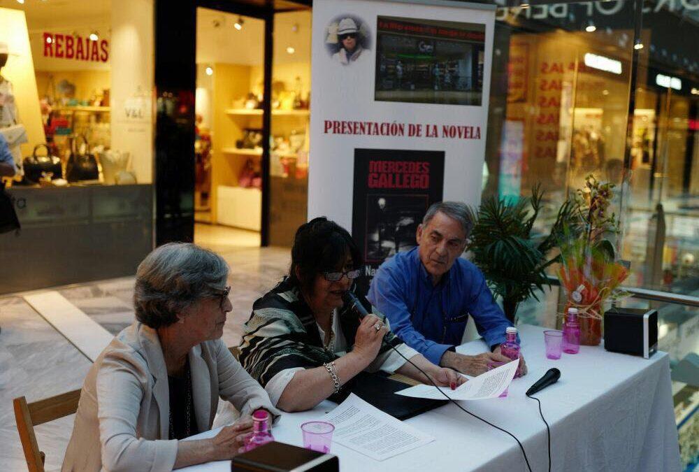 Mercedes Gallego presenta su novela «Nada es igual» en Castellana 200