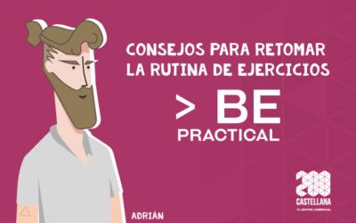 Consejos para retomar la rutina de ejercicios