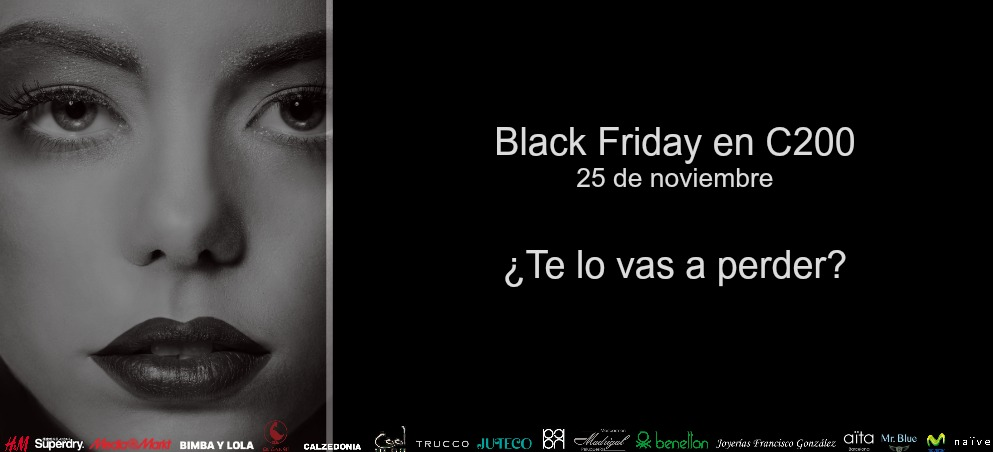 Black Friday en Centro Comercial Castellana 200